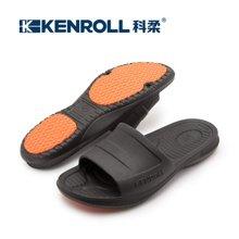 kenroll科柔男女夏季室内家用专利浴室漏水洗澡冲凉防滑拖鞋情侣款