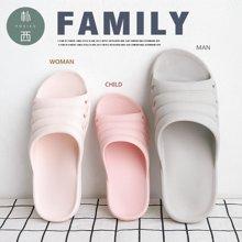 朴西一家三口塑料居家情侣防滑儿童浴室拖鞋