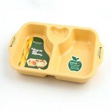 韩国小熊系列餐具健康玉米淀粉环保降解儿童宝宝碗水杯餐盘勺子筷子套装
