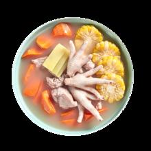 【星厨邦】龙骨玉米红萝卜汤/净重约705g适合1~2人食用