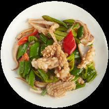 【星厨邦】豉汁尖椒炒鲜鱿鱼【微辣】/净重约420g适合1~2人食用
