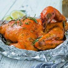 【79元两只再送1只,共3只】山东散养农家鸡800g/只 调味腌制整只去内脏生鸡 农家土鸡
