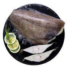 鲜动生活 比目鱼原条 600g/条 口感鲜嫩进口野生去头尾内脏