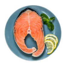 【鲜动生活】智利三文鱼600g冰冻鱼身切段 鱼扒 带皮带骨进口海鲜