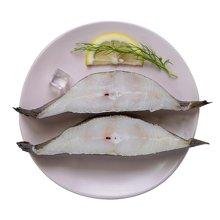 鲜动生活 美国阿拉斯加比目鱼2斤 海鲜水产冰冻海鲜