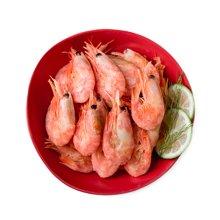 鲜动生活 北极甜虾约2斤装(120+头/kg)加拿大进口野生大规格带头膏虾生鲜食材海鲜水产