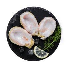鲜动生活 智利进口鲍鱼500g鲜冻野生特大鲍鱼粒大饱满生鲜食材海鲜水产
