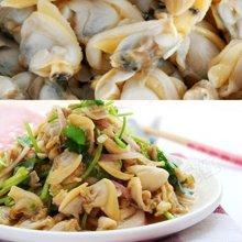 北洋海产 蚬子肉200g 大连野生 熟冻海鲜 烹饪方便 营养健康 4包深圳包邮