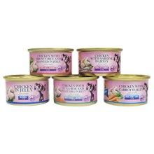 雅思乐宠物零食狗狗罐头80g泰国进口改善食欲补充营养多种口味