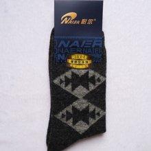 耐尔兔羊毛保暖男袜26-29cm