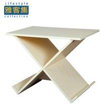 【可作小茶几 电话桌 杂志桌】雅客集优利卡X型边桌WN-15172
