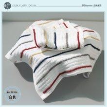 【山东孚日集团,世界巾被旗舰 ▍✔舒适系列】纯棉立体条纹方巾