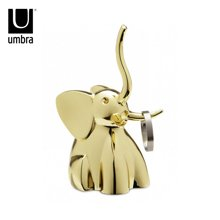 ZOOLA 卡通动物系列大象戒托 金色