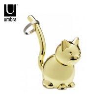 ZOOLA 卡通动物系列小猫戒托 金色