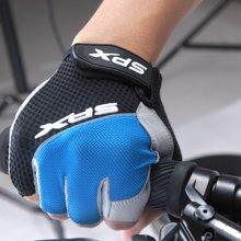 喜德盛 自行车手套半指男女骑行装备山地车短指手套透气减震S034