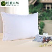 香港雅兰家纺枕头枕芯保健护颈椎软枕头特价包邮雅兰立体羽丝绒枕