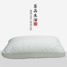 蒂品生活 舒适回弹好大豆纤维枕 全棉提花单人枕头  蓬松柔软 送家人送朋友