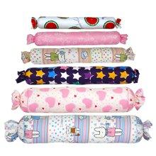 帝豪家纺 创意儿童睡觉抱枕可爱宝宝糖果大号长圆柱抱枕芯套可拆洗
