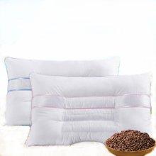 【99/对】雅兰家纺 决明子枕芯  亲肤面料透气枕头 颈椎保健枕