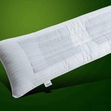帝豪家纺 特价情侣双人枕头1.2米1.5米决明子长枕头芯 两人用护颈枕