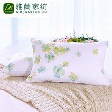 雅兰家纺 艾草枕头 羽丝绒枕 护颈纤维枕芯  香薰纤维枕