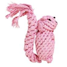宠怡玩具用品 棉绳松鼠 泰迪训犬 安全磨牙