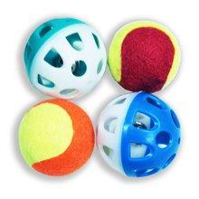 宠怡宠物玩具用品 猫咪塑料空球 狗狗玩具 发声 猫狗训练健齿