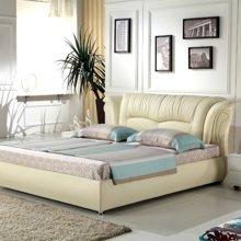 皇家爱慕品牌正品 真皮软床 双人/单人床 1.5*2米