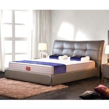 皇家爱慕现代简约 时尚真皮软床 结婚床