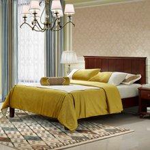 皇家爱慕美式乡村实木床中式现代简约主卧家具1.5m1.8米双人田园床特价