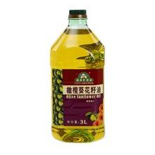健康好理油橄榄葵花籽油(3L)