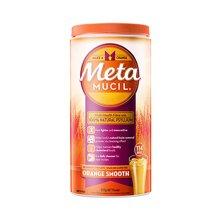 【香港直邮】(塑身纤体维持胆固醇平衡)澳洲Metamucil美达施膳食纤维粉114次香橙口味673克*1瓶