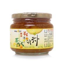 韩福10.2蜂蜜柠檬柚子茶(580g)