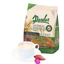 拉菲丹顿香港进口蔬菜燕麦片早餐即食冲饮独立包装490克袋装