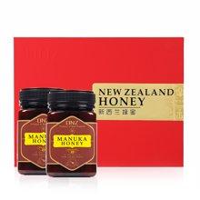 新西兰进口蜂蜜麦卢卡纯净天然成熟蜜TA10+ 500g 2瓶礼盒装