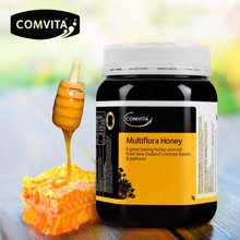 comvita康维他多花种蜂蜜1000g新西兰原装进口纯净天然成熟蜜瓶装