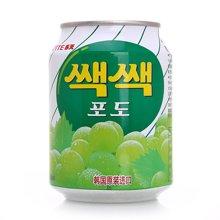 乐天粒粒葡萄汁饮料(238ml)