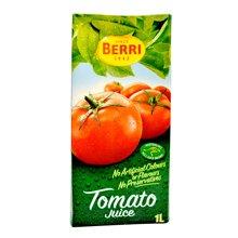 BERRI 马来西亚百果益 果汁番茄汁 1升/盒