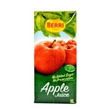BERRI 马来西亚百果益 果汁苹果汁 1升/盒