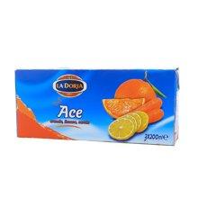 ¥意乐果园橙汁复合果蔬汁饮料(200ml*3)