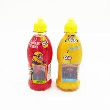波兰进口 魔宝小黄仔儿童混合果汁饮料+草莓覆盆子果汁饮料两瓶