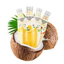 泰国原装进口饮料乐可芬芒果椰子汁5瓶*290ml 椰果果汁椰汁水