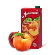 喜爱牌 俄罗斯进口果汁苹果桃汁950mlx1瓶 进口饮料水果汁饮品饮料混合口味