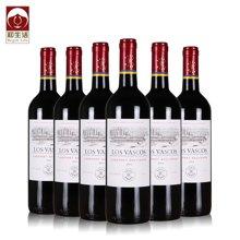 BeginLife智利拉菲 罗斯柴尔德 华诗歌 干红葡萄酒 6支整箱礼盒装