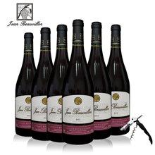 法国进口红酒 尚博龙勃艮第丘干红葡萄酒750mL*6整箱装 法国波尔多AOC产区葡萄酒