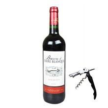 法国原瓶进口红酒 AOC级 泰瑞布朗男爵波尔多干红葡萄酒750ml 进口葡萄酒