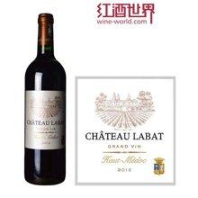 法国波尔多中级庄 拉芭酒庄红葡萄酒 2012年