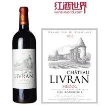 法国波尔多中级庄 丽佛莱酒庄红葡萄酒 2010年