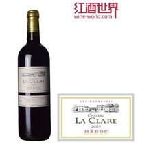 法国波尔多中级庄 克莱尔酒庄红葡萄酒 2009年