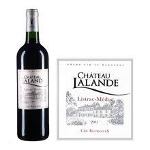 法国波尔多中级庄 拉朗德古堡红葡萄酒 2011年
